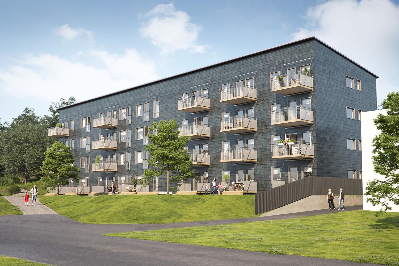 Nybyggnation lägenheter